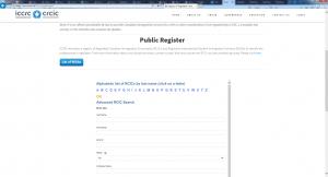 iccrc licensed consultants
